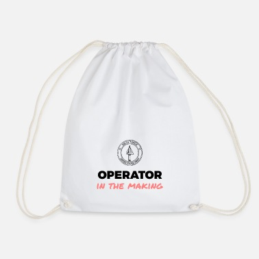 Operator in the making. - Drawstring Bag
