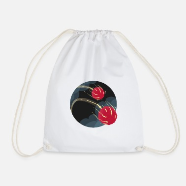 Drawstring Backpack Space Comet Universe Bags