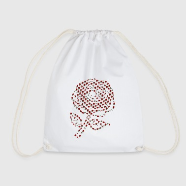 Rose Rose of roses - Drawstring Bag
