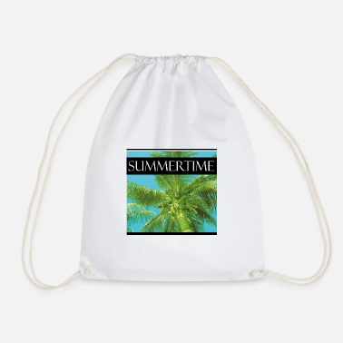 Summertime summertime - Drawstring Bag