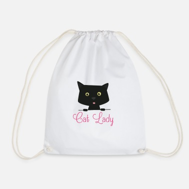 Cat Lady Cat Lady Cat Lady - Drawstring Bag