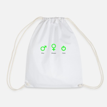 Geek Geek - Drawstring Bag
