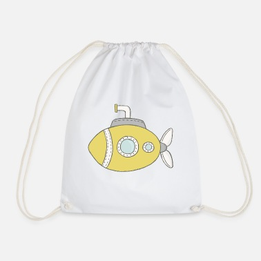 Submarine Submarine - Drawstring Bag