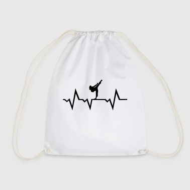 Martial Arts & Heartbeat, woman - Mochila saco