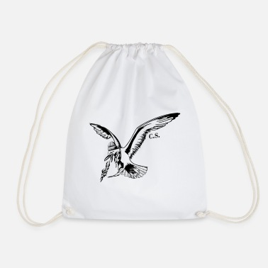Fire Spitting Gull - Charlie sharpness - Drawstring Bag
