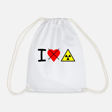 Shop Nuclear Power Drawstring Bags online | Spreadshirt