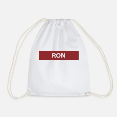 Ron Ron - Drawstring Bag