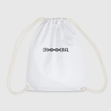 Original DNA deoxyribonucleic acid - Drawstring Bag
