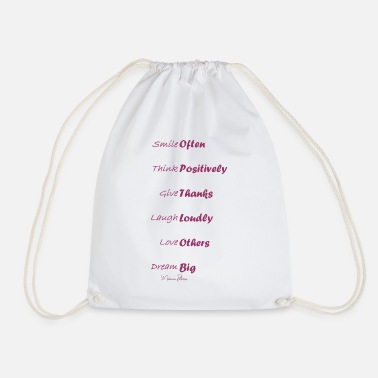 Missionary Position positive - Drawstring Bag