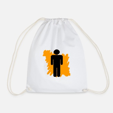 Man man - Drawstring Bag