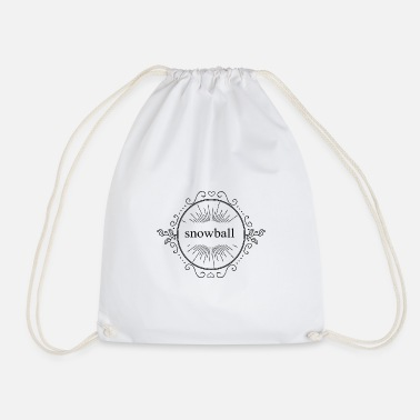 Snowball snowball - Drawstring Bag