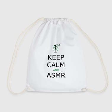KEEP CALM AND ASMR - Sacca sportiva
