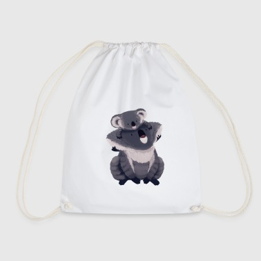 Koala illustration - Drawstring Bag