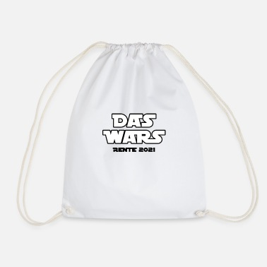 Pension 2021 - The Wars Gift Humor Fun Funny - Drawstring Bag