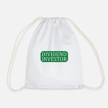 Dividend Investor Shares T Shirt - Drawstring Bag