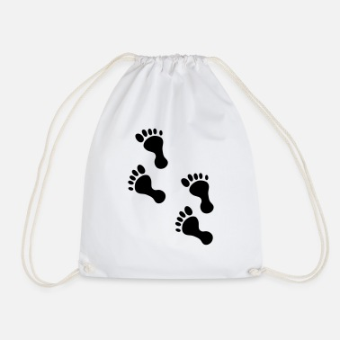 Foot foot - Drawstring Bag