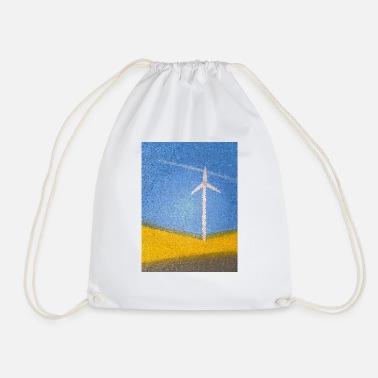 Wind Wind turbine - Drawstring Bag