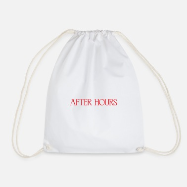 Album After Hours the weekend Album - Drawstring Bag