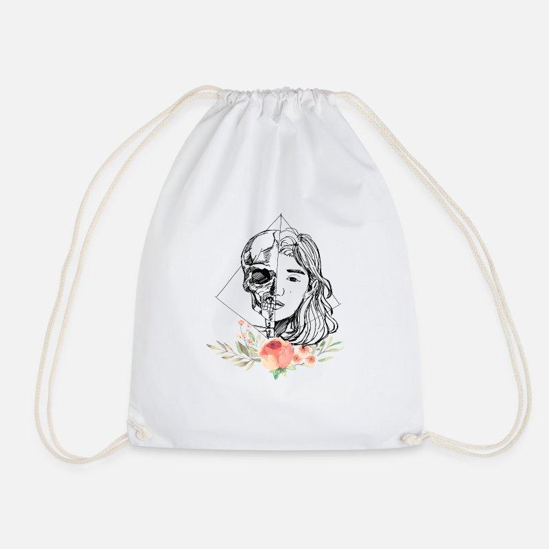 Fille Blanc RoseStyle Sport Et Léger Avec De Crâne Vintage Sac dshQrCtx
