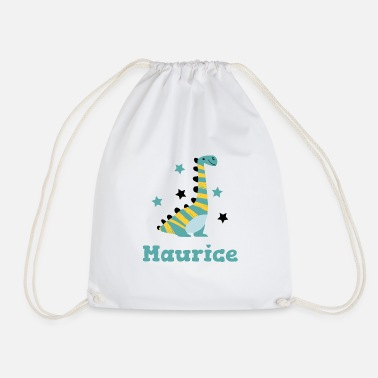 Be Different Maurice Dino surname baby first name child asterisk - Drawstring Bag
