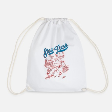 Vintage Collection V2 BMX - Drawstring Bag