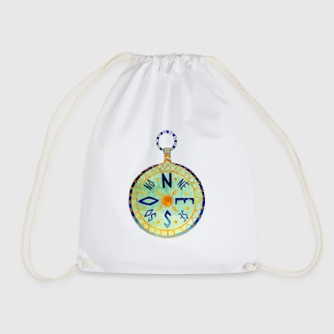 Compass - Drawstring Bag