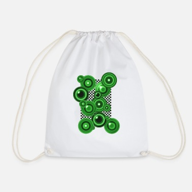Op Art op art 7 - Drawstring Bag