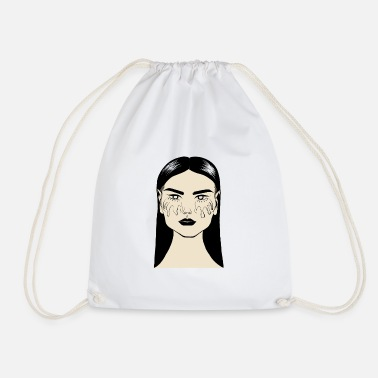 Sad SAD - Drawstring Bag
