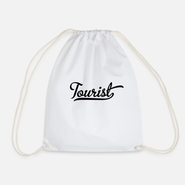 Tourist tourist - Drawstring Bag