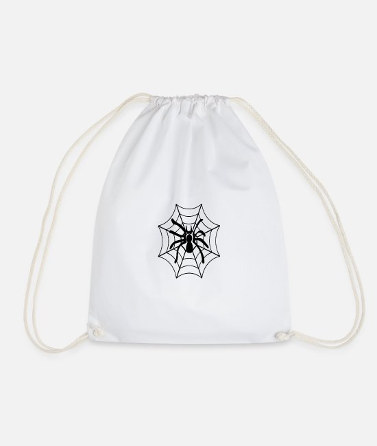 Winter Clothes Bags & Backpacks - spider spider - Drawstring Bag white