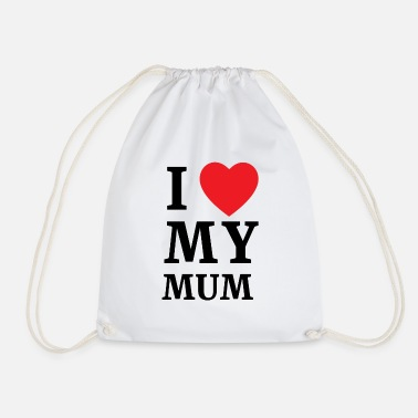 Makula i love my mum, mother's day, mother's love - Drawstring Bag