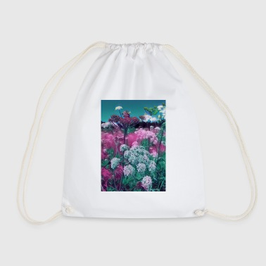 Meadow Wildflowers in the meadow - Drawstring Bag