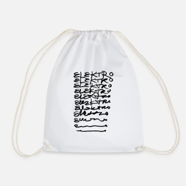 Electrics Electric Electric Electric - Drawstring Bag
