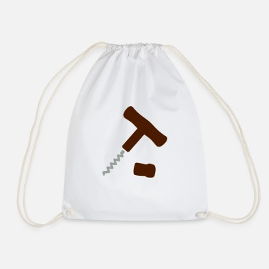 Corkscrew Corkscrew - Drawstring Bag