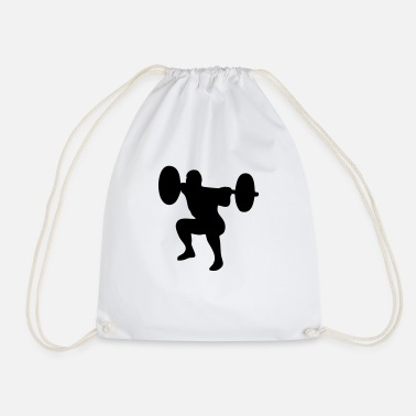 Weightlifting Weightlifter, weightlifting - Drawstring Bag