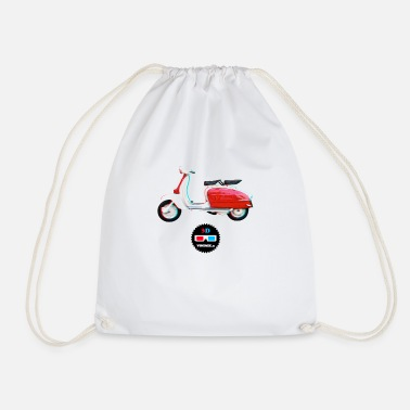 Vintage Collection V2 Vintage - Lambretta 3D - Drawstring Bag