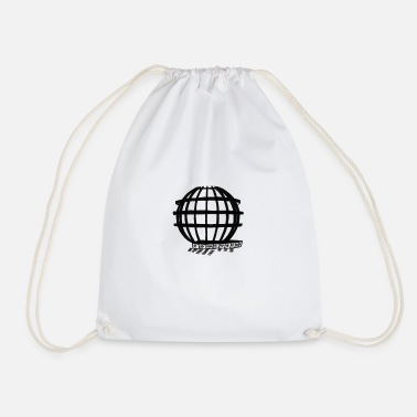 Ball attraction sketch style trend - Drawstring Bag