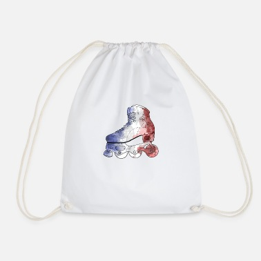 Inline FRANCE flag - Drawstring Bag
