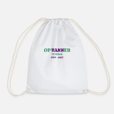 Op Op Banner - Drawstring Bag