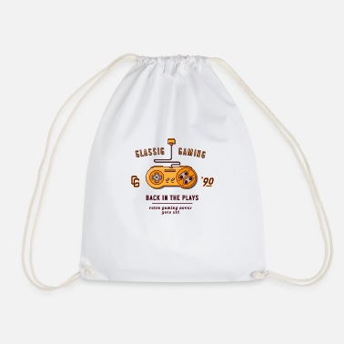classic gaming - Drawstring Bag