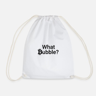 Bitcoin Bubble - Drawstring Bag