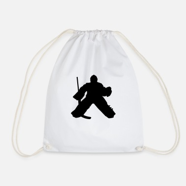 Hockey Goalie hockey goalie - Drawstring Bag