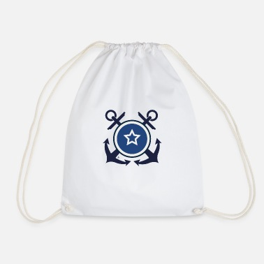 Navy Badge - Navy - Gymtas