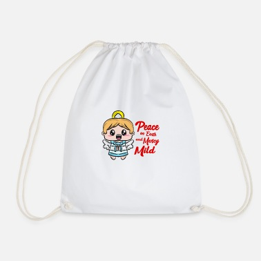 Christmas Angel Christmas angel - Drawstring Bag