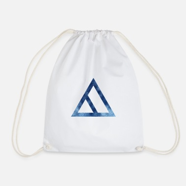 Pollett TRIANGLES TRIANGLE BLUE 2 - Gymbag