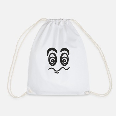 Confused Confused - Drawstring Bag