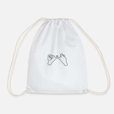 Friendship Friendship - Drawstring Bag