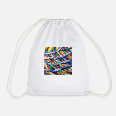 On the waves - Drawstring Bag