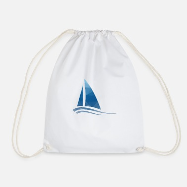 Sailboat Sailboat - sailboat - Drawstring Bag