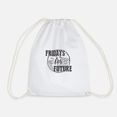 Fridays for Future FINAL BLK IMPRINT 01 2 - Turnbeutel